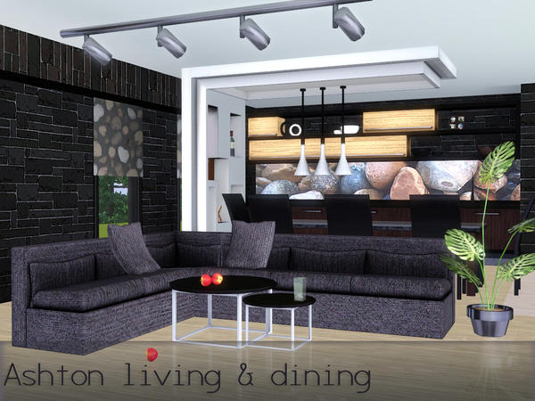 Ashton living and dining by spacesims