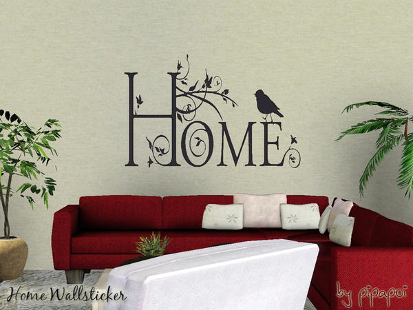Home Wallsticker by pipapoi