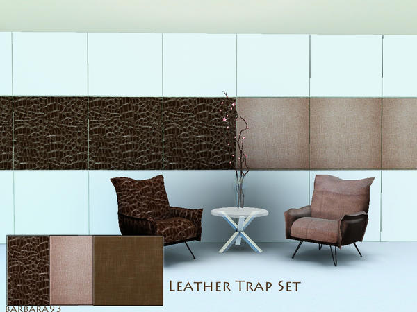 leather trap set by barbara93
