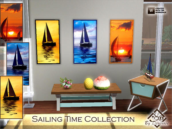 Sailing Time Collection by Devirose