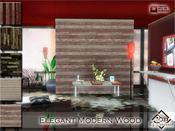 Elegant Modern Wood by Devirose