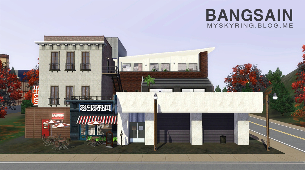 BJ House with Businesses by Bangsain