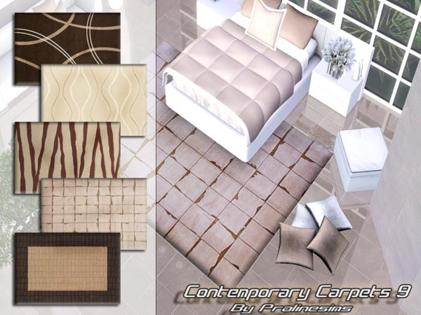 Contemporary Carpets 9 by Pralinesims