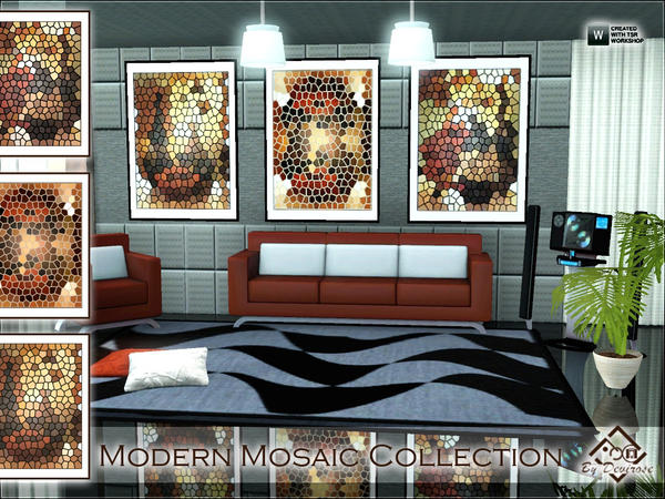 Modern Mosaic Collection by Devirose