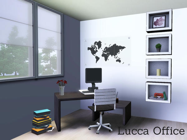 Lucca Office by Angela