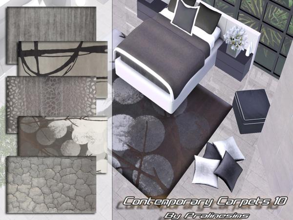Contemporary Carpets 10 by Pralinesims