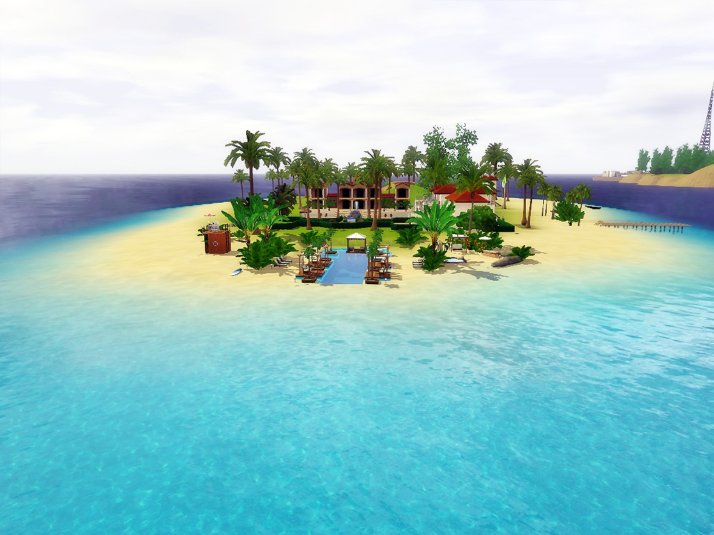 Blue Coast Beach Resort by Via Sims