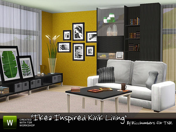 Ikea Inspired Kivik Living by riccinumbers