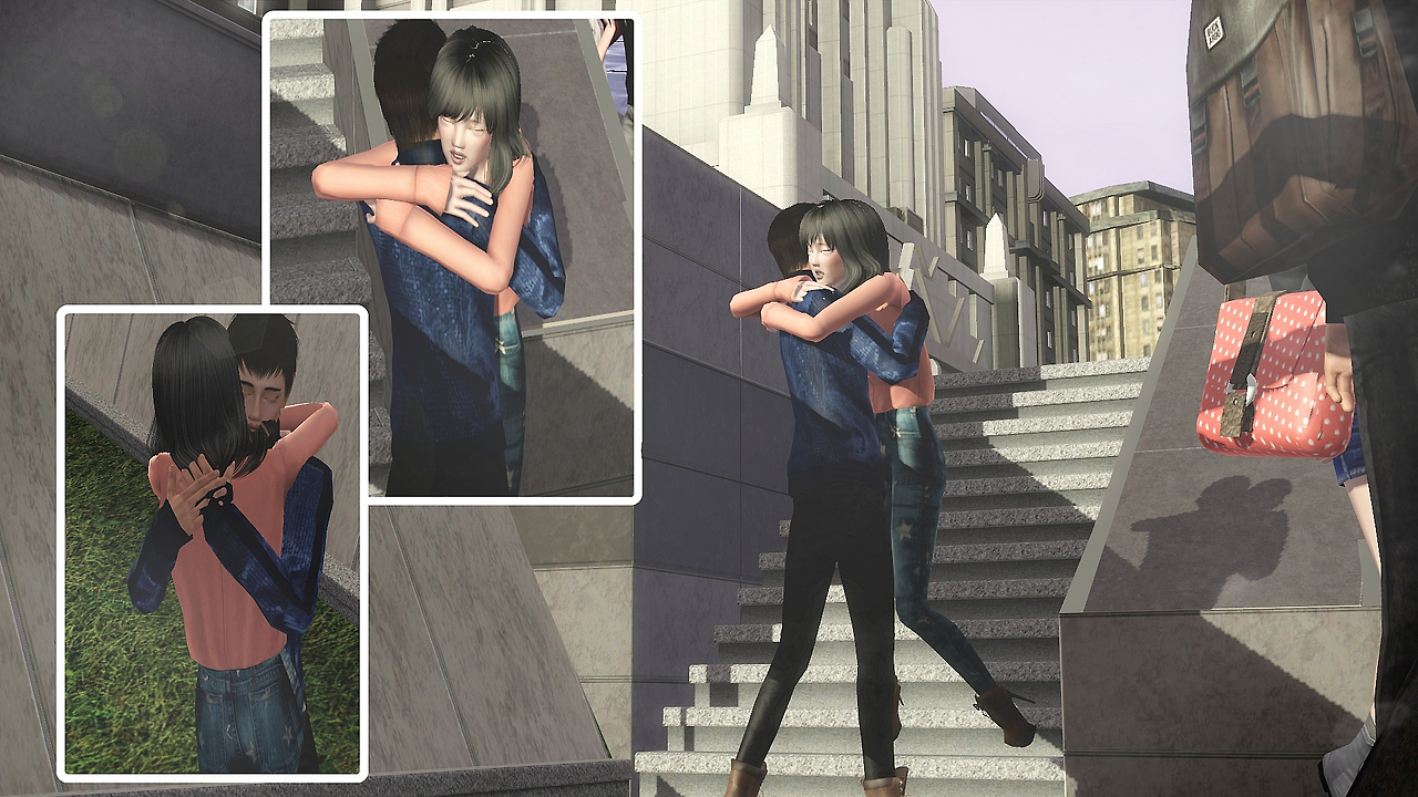 Random Couple Pose Pack Part 1 by Eunsims