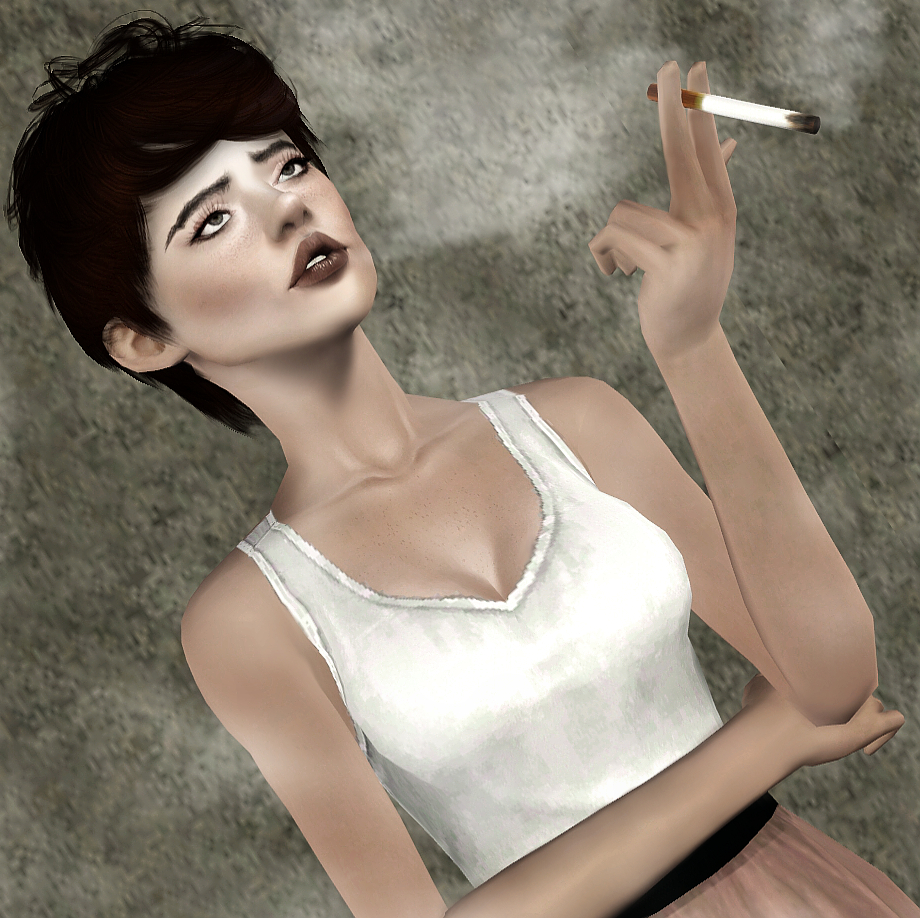 Smoking Pose Pack Part 1 by Bliss