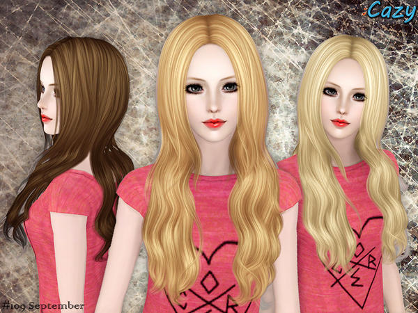 September Hairstyle - Set by Cazy