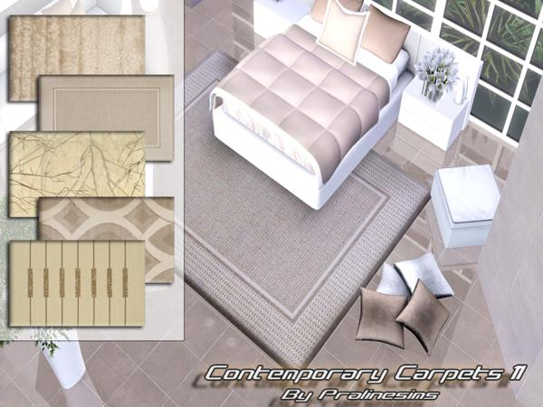 Contemporary Carpets 11 by Pralinesims