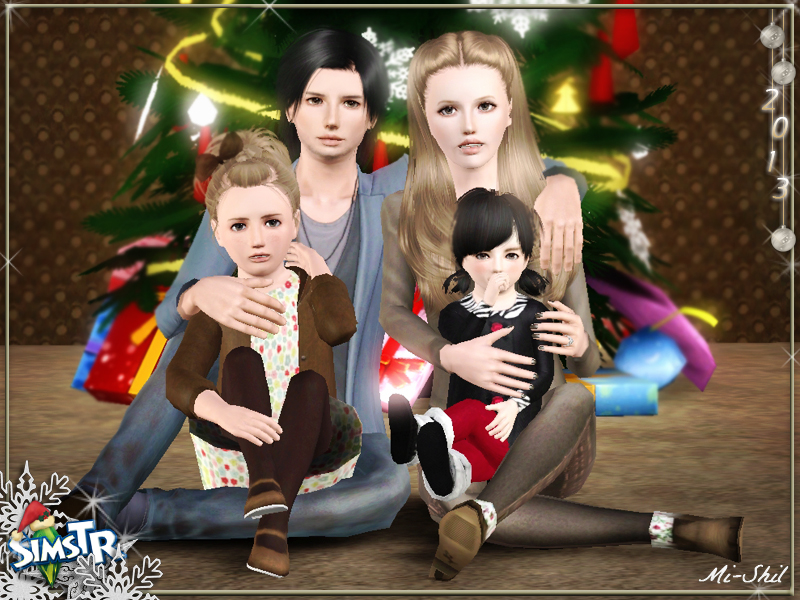 Merry Christmas Pose Pack by Mi-shil