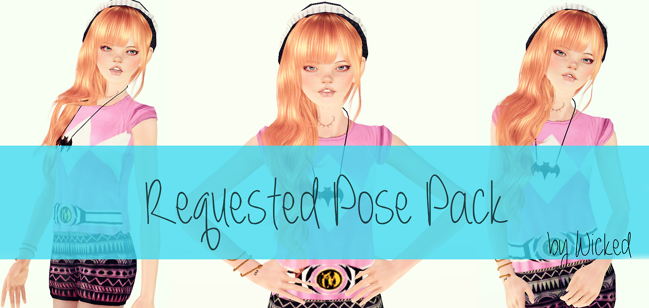 Requsted Pose Pack no2 by Wicked