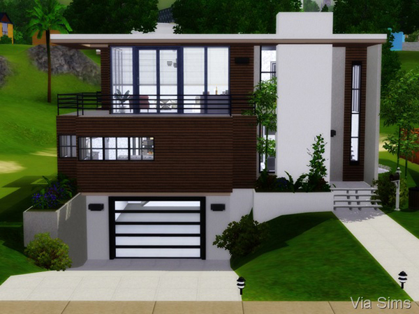 Seafront Home at Via Sims