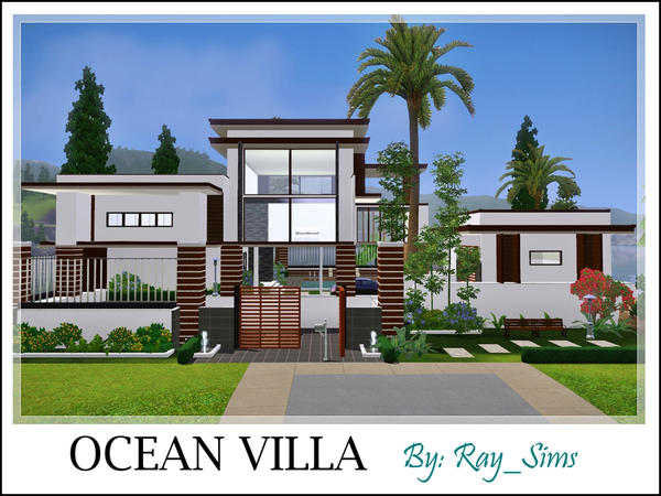 Ocean Villa By Ray_Sims