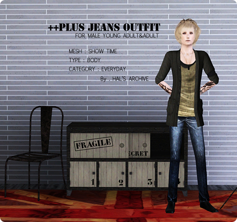 Plus Jeans Outfit by Hal