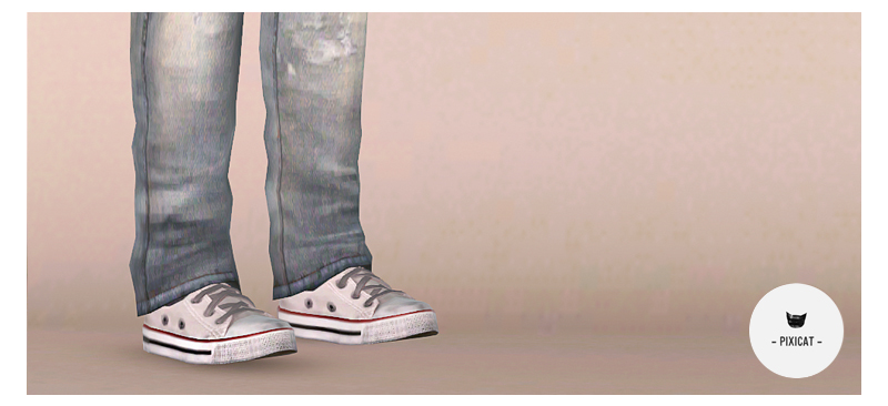 Converse Low Tops for Males & Females by Pixicat