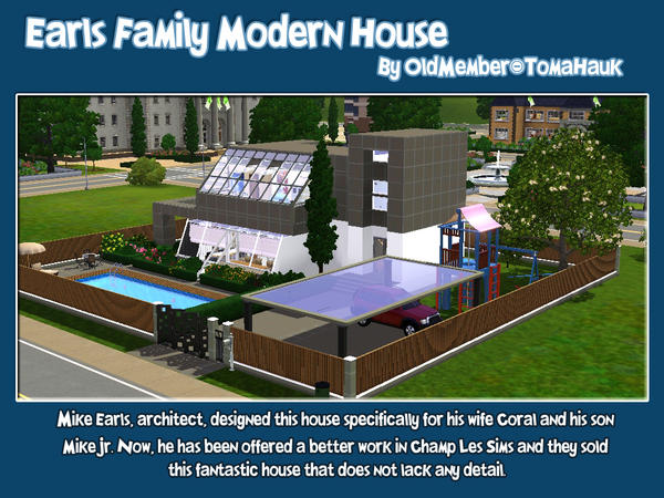 Earls Family Modern House By oldmember_tomahauk