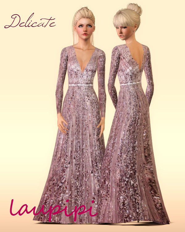 Delicate Dress by Laupipi