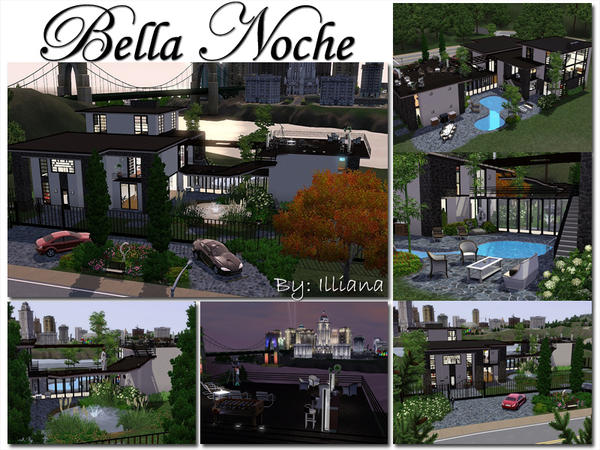 Bella Noche - Modern 3 Bed  By Illiana