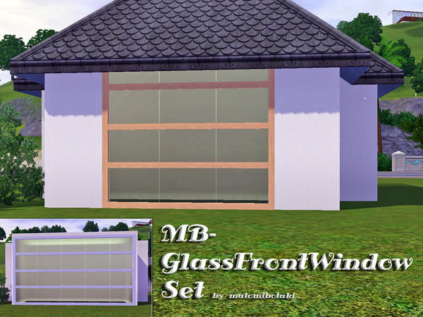 MB-GlassFrontWindowSet by matomibotaki