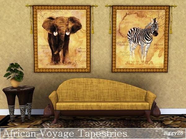 African Voyage Tapestries by ziggy28