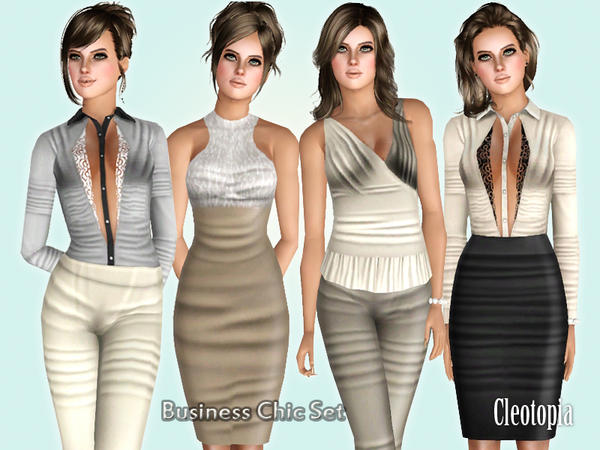 Business Chic Set by Cleotopia
