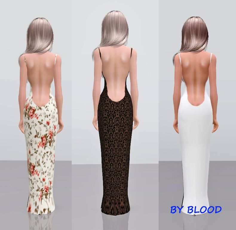 Evening dress by BLOOD for Badkisa777