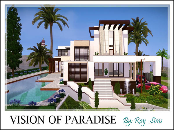 Visions of Paradise (UnFurnished)  от  Ray_Sims
