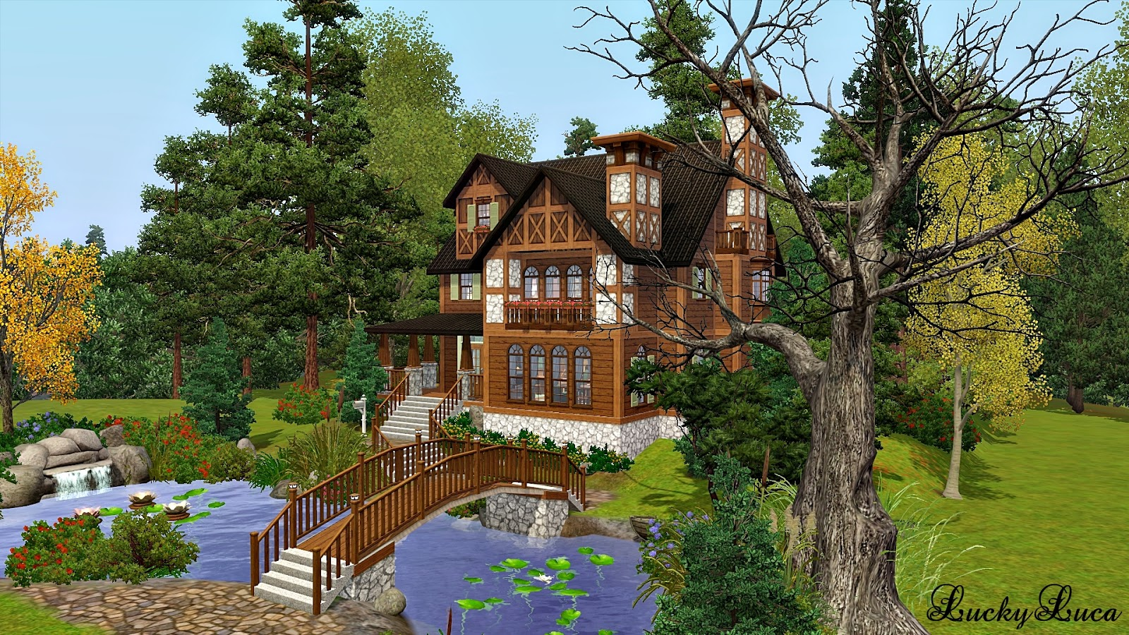 Hillside Brook Cottage by Lucky Luca