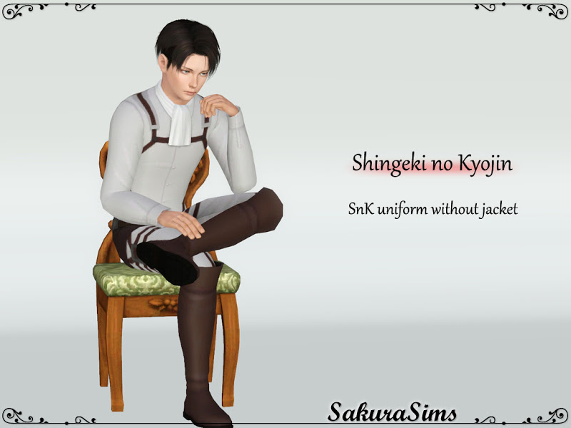 Shingeki no Kyojin Uniform without Jacket by Sakura