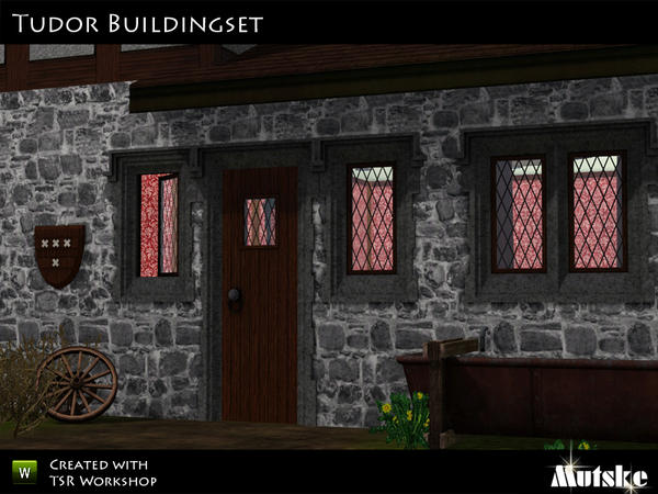 Tudor Buildingset by mutske