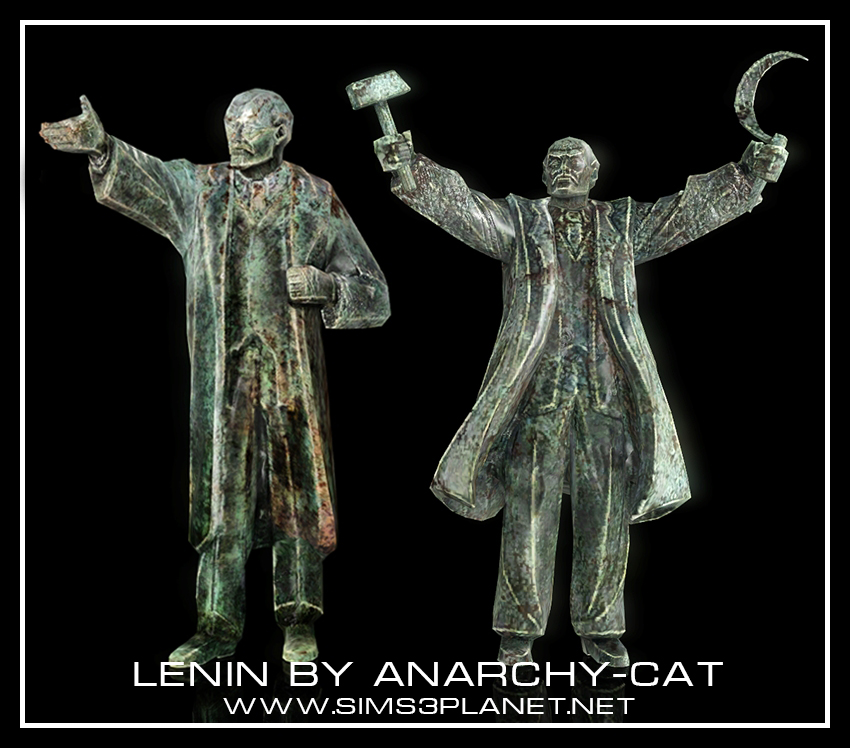 Lenin by Anarchy-Cat