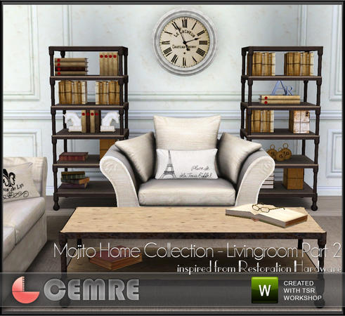 Mojito Home Collection Livingroom Part 2 by cemre
