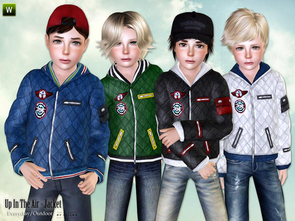 Cool Jackets for Boys - Set by lillka