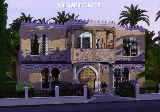 Villa Marrakech at Crea Sims3