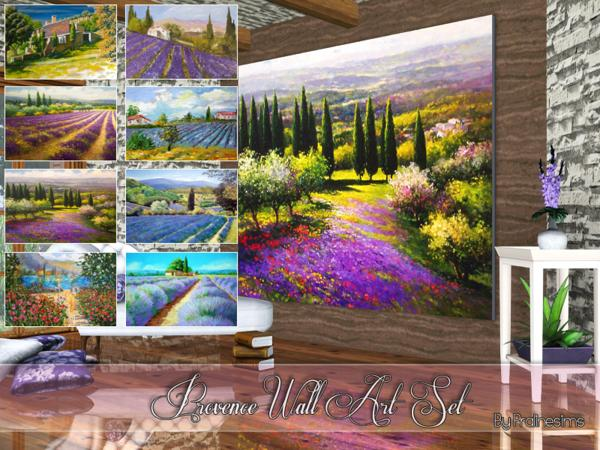 Provence Wall Art Set by Pralinesims