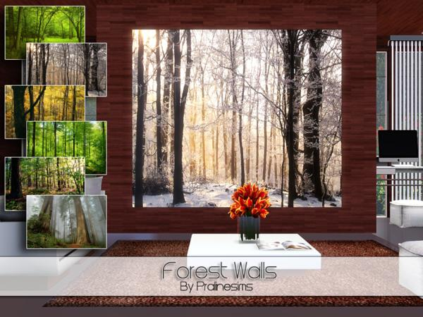 Forest Walls by Pralinesims