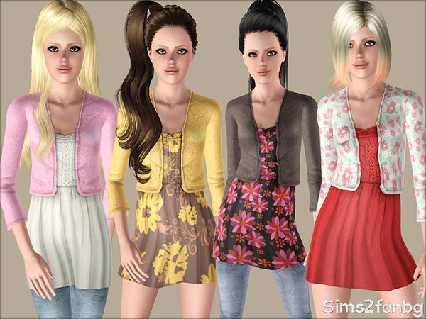 356 - Casual set for teens by sims2fanbg
