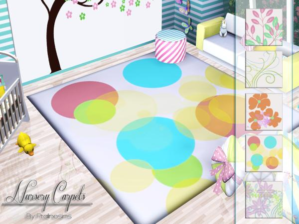 Nursery Carpets by Pralinesims
