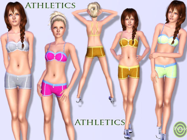 Ladies Athletic Outfit by pizazz