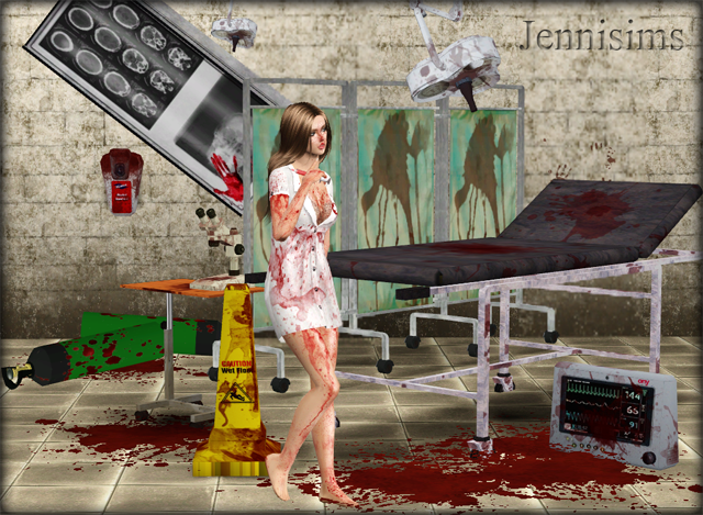 Hospital and Blood Set by Jennisims