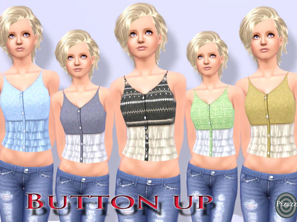 Button Up Top by pizazz