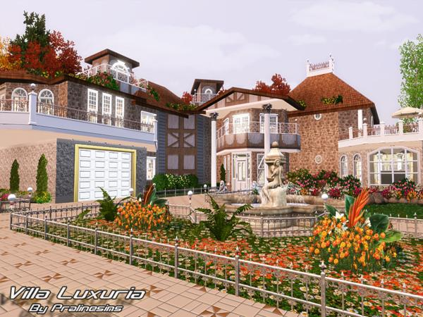Villa Luxuria от Pralinesims