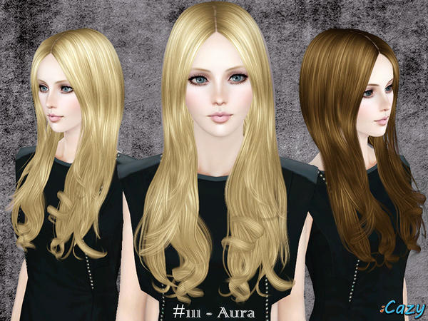 Aura - Hairstyle Set by Cazy