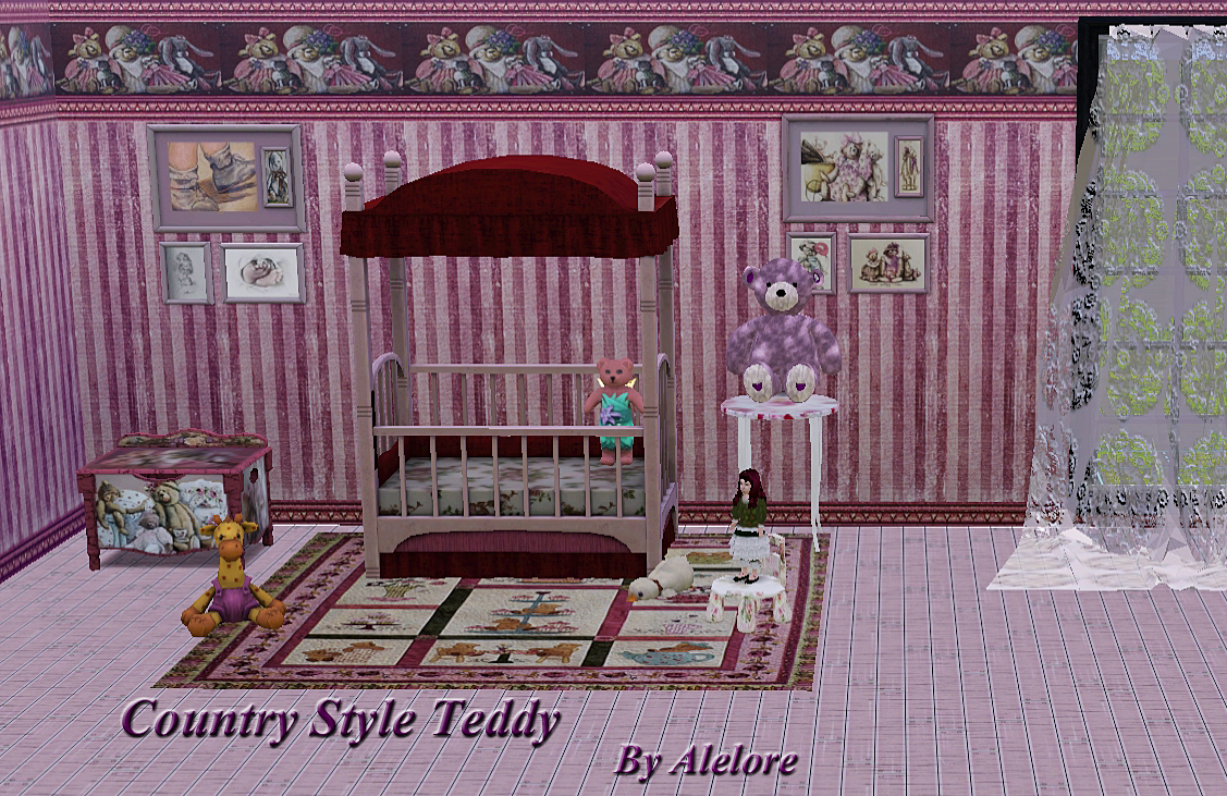 Country Style Teddy by Alelore