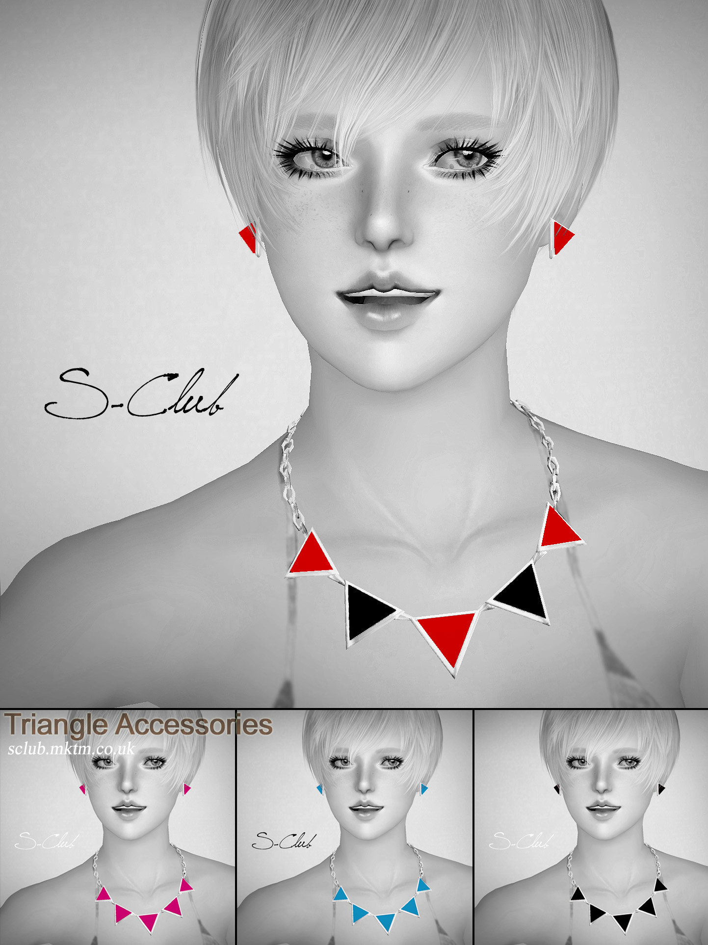 Triangle Accessories by S-Club