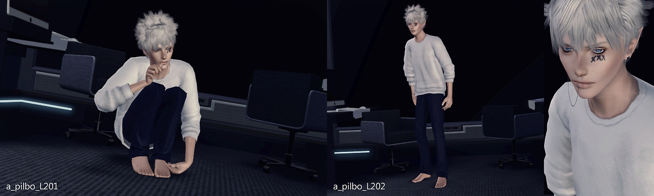 L Poses 2nd by pilbosims3