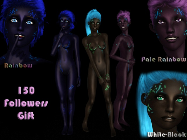 Dark Light Skin NonDefault by tati